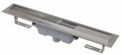 Alcaplast Podlahový žlab APZ1006-850 Professional s okrajem pro plný rošt, svislý odtok, délka 850 mm