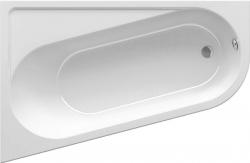 Asymetrická vana Ravak Chrome 160x105 cm, snowwhite