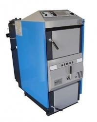 Atmos AC 25 S Zplynovací kotel na hnědouhelné brikety - KOMBI (ekodesign)