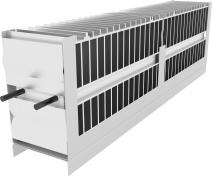 Atrea Vestavný elektrický předehřívač sdigitální regulací RD5 a RD5.CF