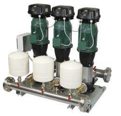 Ivar CS Automatická tlaková stanice s frekvenčním měničem DAB.4 NKVE MCE/P