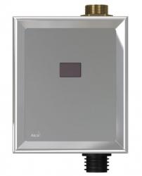 Alcaplast Automatický splachovač WC, kov, 12 V (napájení ze sítě) ASP3-K