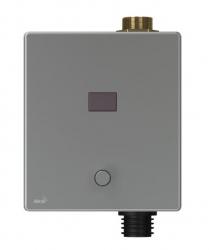 Alcaplast Automatický splachovač WC s manuálním ovládáním, kov, 6 V (napájení z baterie) ASP3-KBT
