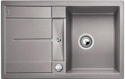 Kuchyňský dřez Blanco METRA 45 S Silgranit aluminium oboustranné provedení 78x50x19 cm