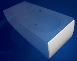 Vagnerplast Boční panel ke klasické vaně 80 x 55 VPPA08002EP2-01/DR