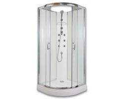 BRILIANT - masážní sprchový box model 4 chinchila