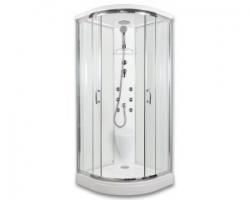 BRILIANT - masážní sprchový box model 5 chinchila