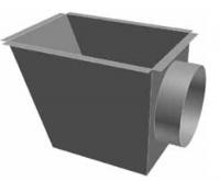 Atrea CPK Cirkulační přechodová komora 370 x 260 ø 250 pro rozdělovací komoru s dolním přívodem R144252