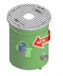 """Gerotop COMPACT 5"""" Vodotěsná šachta pro vrtané studny"""