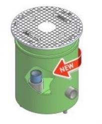 """Gerotop COMPACT 4 1/2"""" Vodotěsná šachta pro vrtané studny"""