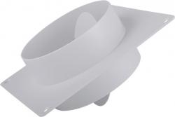 2VV MULTI-PLAST Čtyřhranná plastová příruba se zpětnou klapkou
