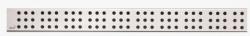 Alcaplast Cube Rošt pro liniový podlahový žlab, nerez