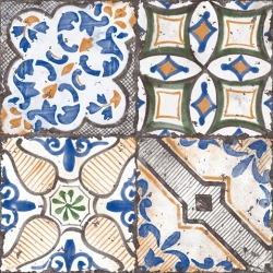 Dekor Fineza Barro mix vietri 30x30 cm, mat