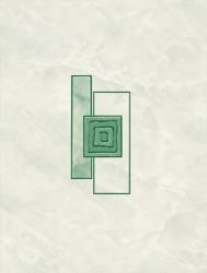 Dekor Multi Laura zelená 25x33 cm, lesk