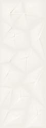 Dekor Peronda Papirus white 32x90 cm, mat, rektifikovaná