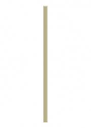 Paradyz Dekorace Universální Listela Sklo Beige 2,3x60