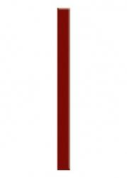 Paradyz Dekorace Universální Listela Sklo Karmazyn 4,8x60