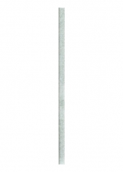 Paradyz Dekorace Universální Listela Sklo Silver 2,3x59,5