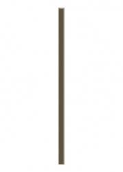Paradyz Dekorace Universální Listela Sklo Wenge 2,3x60