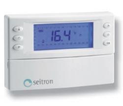 Digitální týdenní prostorový termostat s přijímačem - KIT MAGICTIME PLUS VIA RADIO - 2x1,5V AA