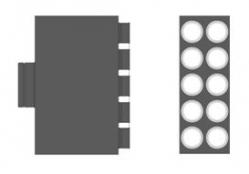 MAT Distribuční box přímý RT2R-10x75/160-OC