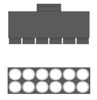 MAT Distribuční box přímý RT2R-12x90/160-OC