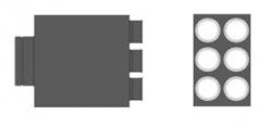 MAT Distribuční box přímý RT2R-6x90/160-OC