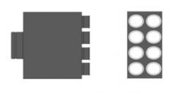 MAT Distribuční box přímý RT2R-8x75/160-OC