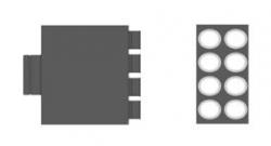MAT Distribuční box přímý RT2R-8x90/160-OC
