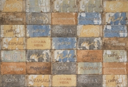 Dlažba Cir Havana cuba libre mix 10x20 cm, mat