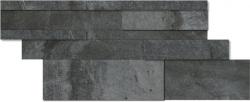 Dlažba Del Conca Climb black tredi 30x60 cm, mat