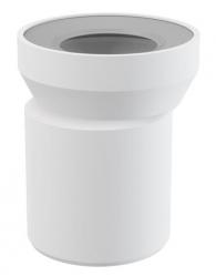 Dopojení k WC – nátrubek excentrický 158 mm A92