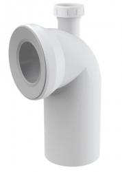 Alcaplast Dopojení k WC s připojením DN40 – koleno 90°  A90-90P40