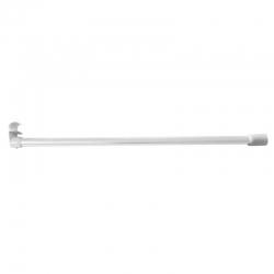 Olsen-Spa Držák závěsné tyče sprchového závěsu bílý, do stropu 61 cm