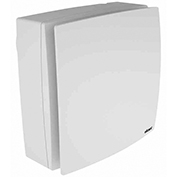 ELICENT Nástěnný ventilátor ELPREX, 100 mm, hladký přední štít, zpětná klapka