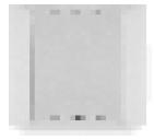 Atrea Externí čidlo ADS 100 ABB, bílá A170258
