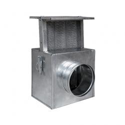 HS Flamingo Filtr k ventilátoru Vents / do rozvodů teplého vzduchu 125mm