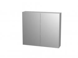 Intedoor Galerka - zrcadlová skříňka E ZS 80 (80x72x13 cm) bílá