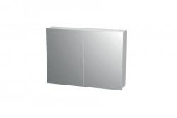 Intedoor Galerka - zrcadlová skříňka NY ZS 100 (100x72x14 cm) bílá