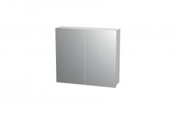Intedoor Galerka - zrcadlová skříňka NY ZS 80 (80x72x14 cm) bílá