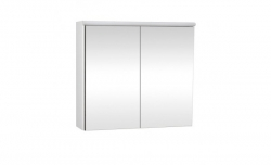 Krajcar Galerka - zrcadlová skříňka Z5.120 s LED osvětlením, 120x65x17cm, bílá