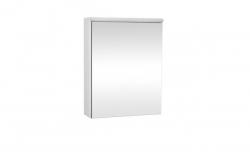 Krajcar Galerka - zrcadlová skřínka Z5.60 s LED osvětlením, 60x65x17cm, bílá