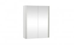 Krajcar Galerka - zrcadlová skříňka Z6.70 s LED osvětlením, 70x74x17cm, bílá