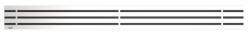 Alcaplast GAP Rošt pro liniový podlahový žlab, nerez-mat