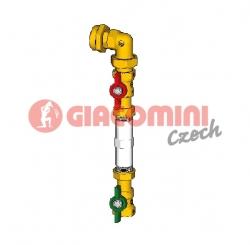 "Giacomini GE550Y090 Rozšíření o 5-tý byt (pro GE550Y112) 1""1/4 x 3/4"" mezikus 110mm"