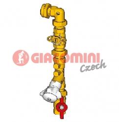"Giacomini GE550Y094 Rozšíření o 5-tý byt (pro GE550Y147) 1""1/4 x 3/4"""