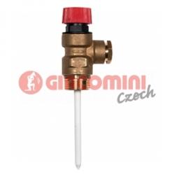 Giacomini R140PT Teplotní a tlakový pojišťovací ventil
