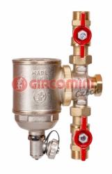 Giacomini R146C-S1 Odstředivý odkalovač s magnetickou vložkou - set 2x kulový kohout