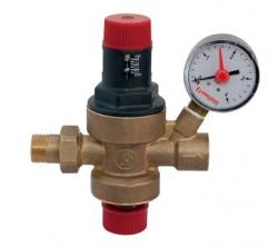 Giacomini R150M Automatické dopouštění topné vody - redukční ventil + manometr