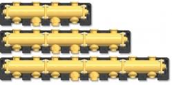 Horizontální rozdělovač PAW.MV25, DN 25
